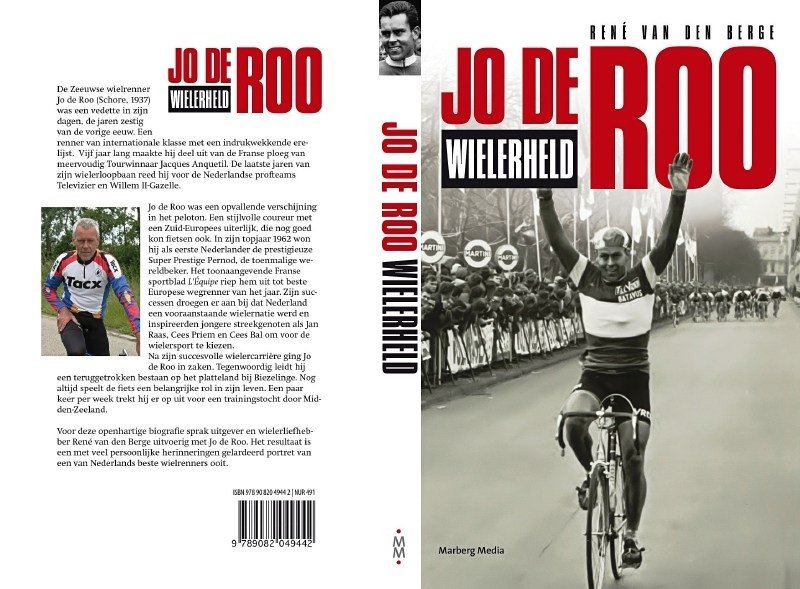 Biografie Jo de Roo - Wielerheld (gesigneerd)