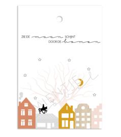 """Cadeaukaartje """"Zie de maan schijnt"""""""