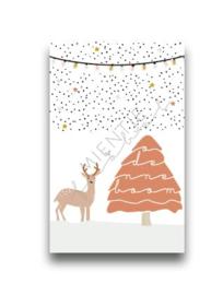 "Cadeaukaartje ""O Denneboom"" Bambi"