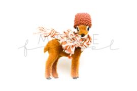 Bambi Bruin Lichtroze/Roest/Grijs