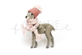 Bambi Grijs Donker oudroze