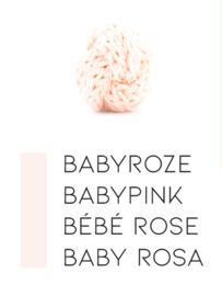 Rozertinten | Babyroze