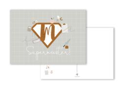 Ansichtkaart Supermeester A6