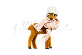 Bambi Bruin Oudroze/Grijs
