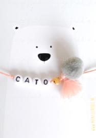 Naamarmbandje #Cato