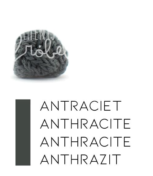 Zwart/wit+grijstinten   Antraciet