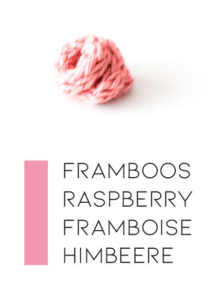 Rozetinten | Framboos