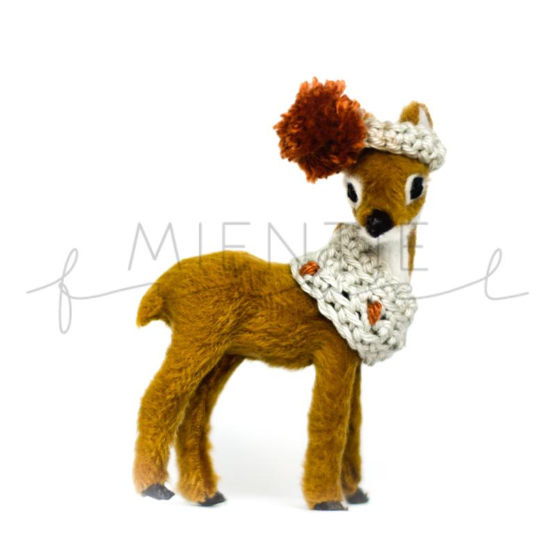 Deer Brown | Rust/Grey