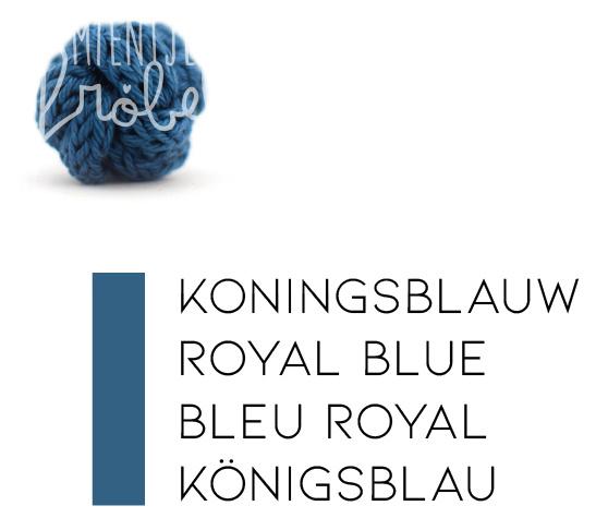 Blauwtinten | Koningsblauw