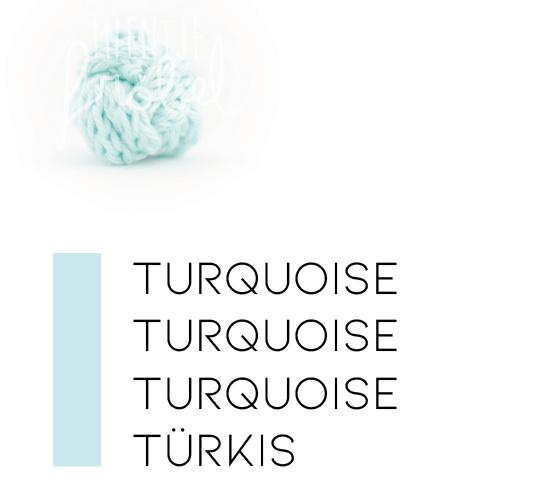 Blauwtinten |  Turquoise