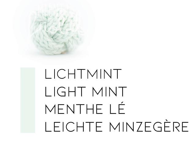 Mintkleuren | Lichtmint