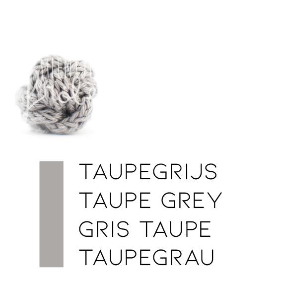 Zwart/wit+grijstinten | Taupegrijs (koele grijze kleur)