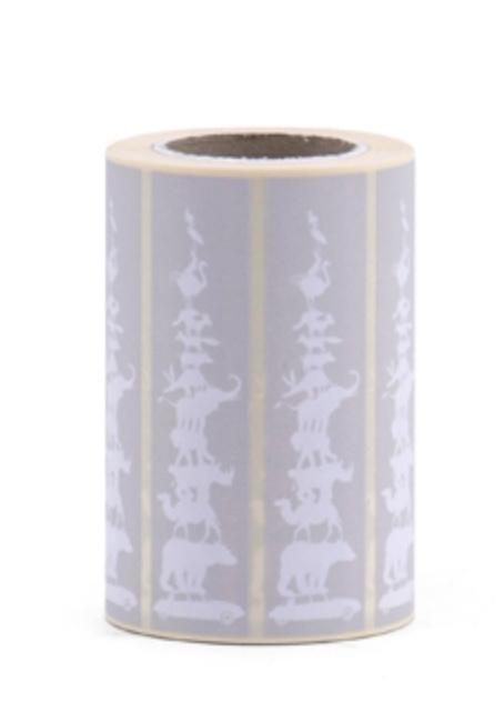 Stickers Animals Grey/Latte- per 5 stuks