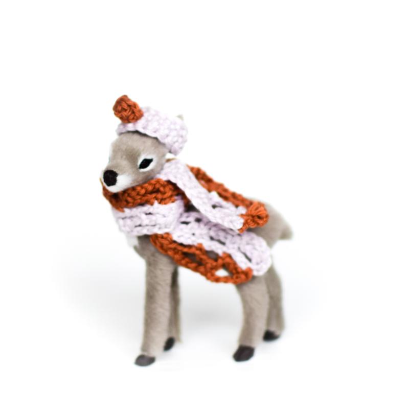 Bambi Grijs Roest/Lila