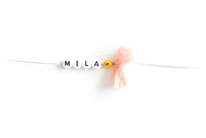 Naamarmbandje #Mila