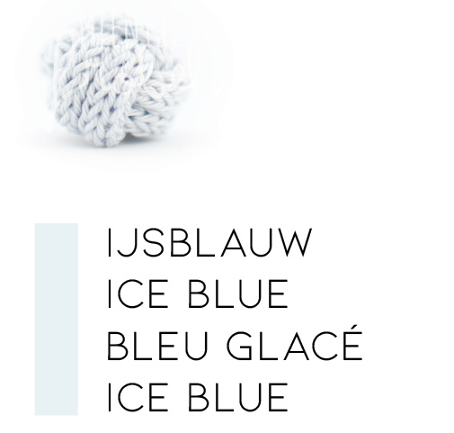 Blauwtinten | Ijsblauw