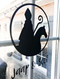 Sinterklaas silhouet