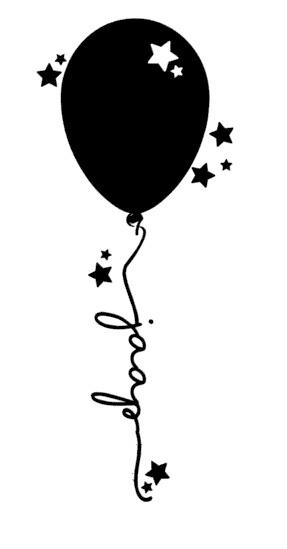 Ballon met naam