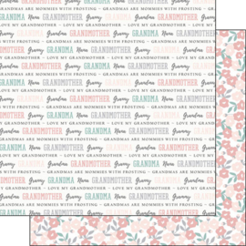 Grandma quotes - 30.5 x 30.5 centimeter