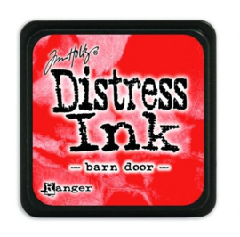 Mini  Distress inkt - Barn Door - waterbased dye ink / inkt op waterbasis - 3x3 cm