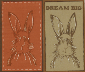 March Hares  haas Clear stamps