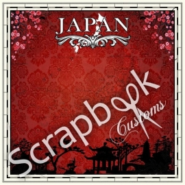 Japan scrapbooking papier - 12 x 12 inch