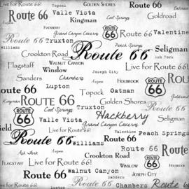 Route 66 - scrapbookpapier 30.5 x 30.5 cm