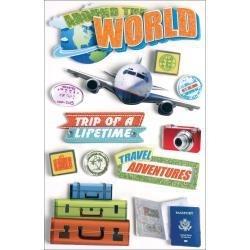 Around the World - 3D hobby Stickers