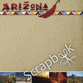 Arizona - Left & Right  - 12x12 scrapbookpapier setprijs