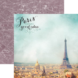 Paris is always a good idea - scrapbookpapier