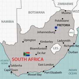 Scrapbook papier Zuid-Afrika