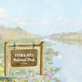 Everglades National Park / Florida - scrapbook customs - 12x12 inch