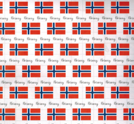 Norway - Adventure Border - scrapbook papier