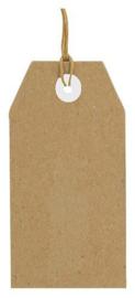 Kraft Tags - Labels - 112 x 56 mm - 25 stuks