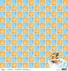 Hamster scrapbook papier 30.5 x 30.5 cm