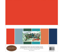 Summer Camp Scrapbook papier en karton pakket 30.5 x 30.5 centimeter