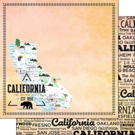 Scrapbook papier Californië