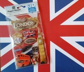 london stickers 3d