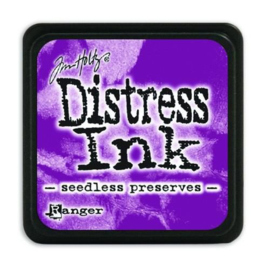 Mini  Distress inkt - Seedles Preserves - waterbased dye ink / inkt op waterbasis - 3x3 cm
