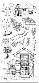 Clear stamps hobby Art - medium sets