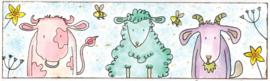 Farmyard Friends -koeien/schaap stempels