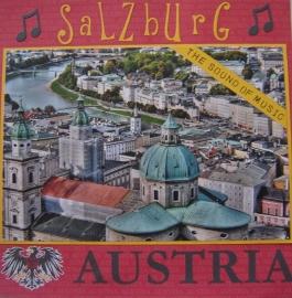 Salzburg foto scrapbook papier 30.5 x 30.5 cm