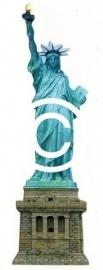 Mis Liberty / Vrijheidsbeeld - stans decoratie - 4x13 cm