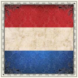 Holland - scratchy scrapbookpapier - 12x12 inch