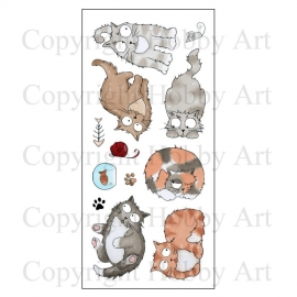 Catz  clear stempel set