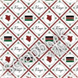 Kenya - Discover papier - 30.5 x 30.5 cm