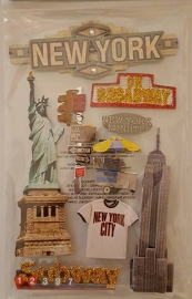 3D Stickers - New York City