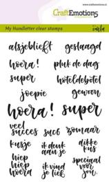hobby stempels met teksten Bullet Journaling - Geluksmomenten (NL) - A6