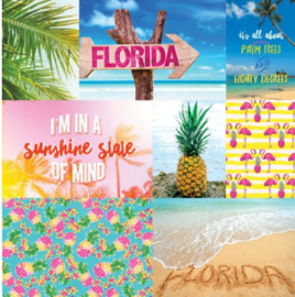 Florida - Paradise found - scrapbook papier 12x12 inch