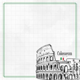 Scrapbookpapier Rome